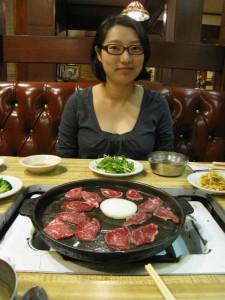 BBQ beef at Dong Il Jang